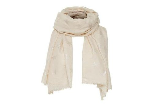 Cream Clothing Schal | Star Scarf | Sandshell