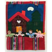Handgemachte Märchentaschen aus Garn