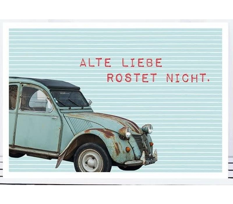 Postkarte | Alte Liebe