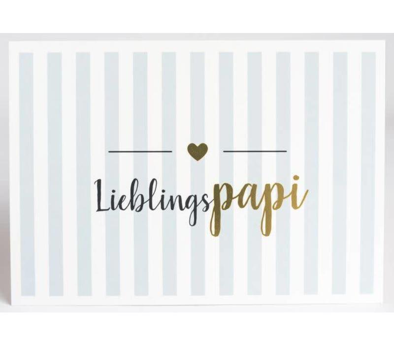 Postkarte | Lieblingspapi
