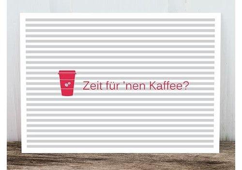 Postkarte | Zeit für 'nen Kaffee
