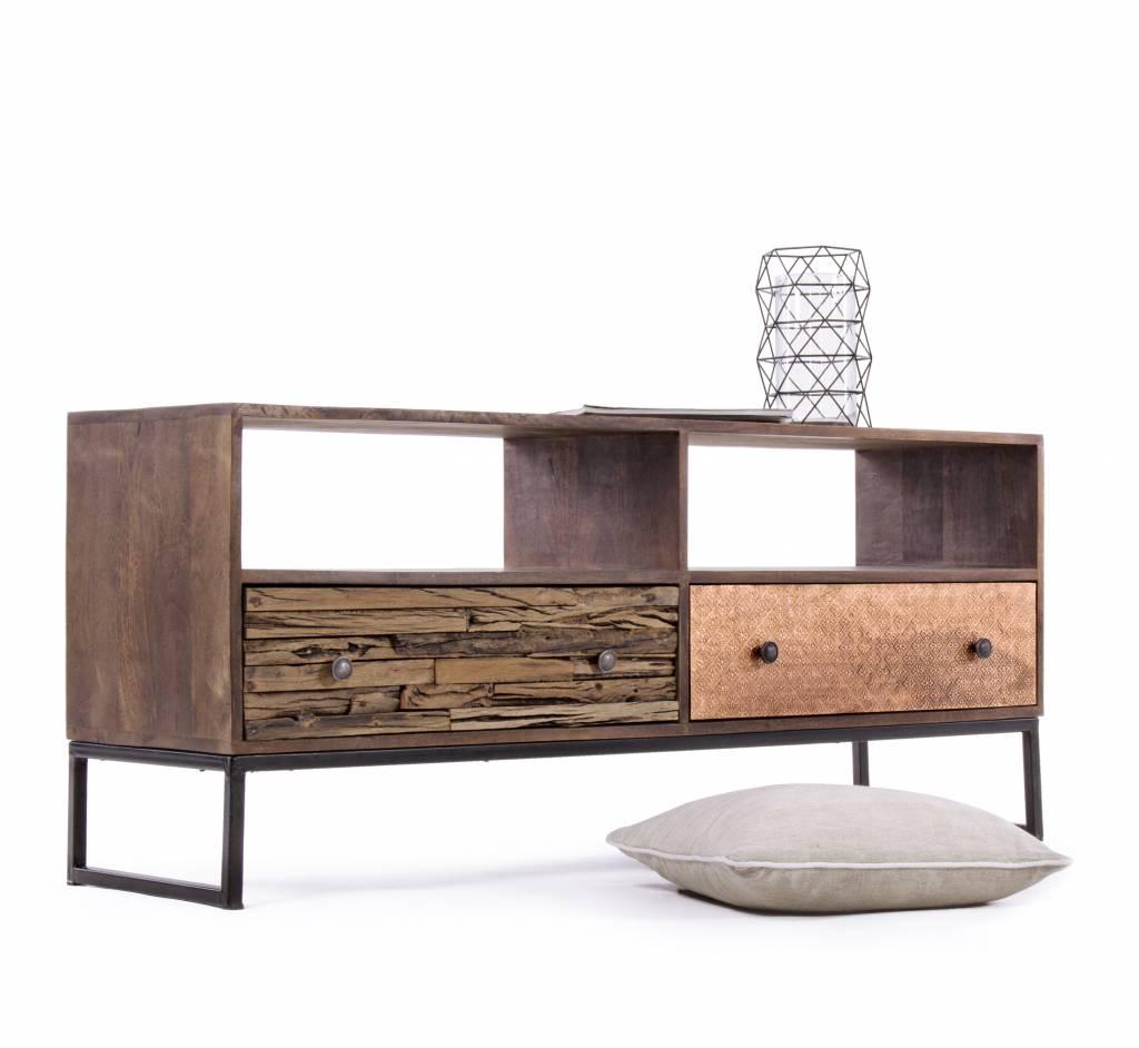 vintage tv m bel george unikat massivholz style enchant concept store. Black Bedroom Furniture Sets. Home Design Ideas