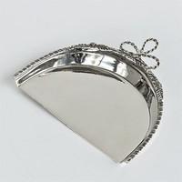 Tisch Bürsten Set | Silberfarben