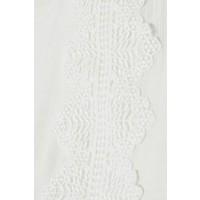 Bluse | Lilly Peplum blouse | Chalk