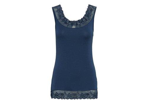 Cream Clothing Top | Florence Top | Royal Navi Blue