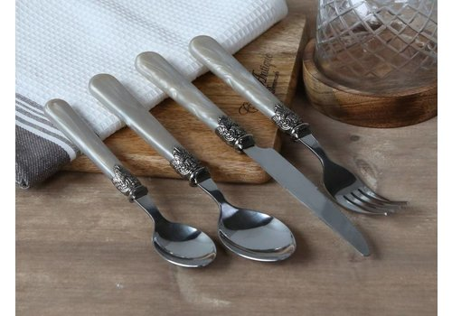 Chic Antique Besteck Set Vintage | Silber Antik Look
