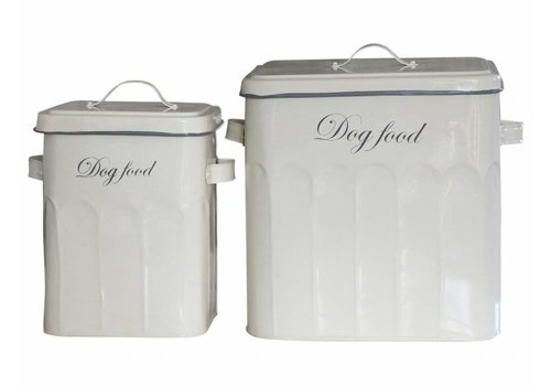 Chic Antique Vorratsdosen | 2er Set | Dog Food | Vintage