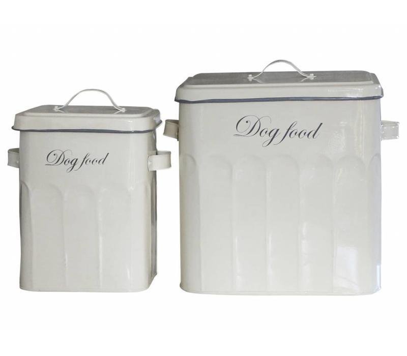 Vorratsdosen | 2er Set | Dog Food | Vintage