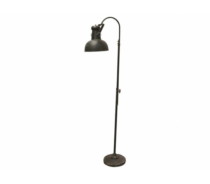 Stehlampe | Factory | Vintage Schwarz