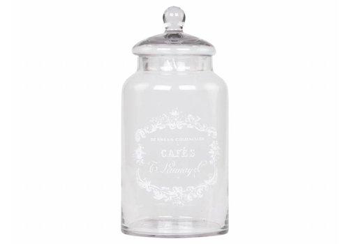 Chic Antique Bonboniere | Cafes | Glas | H32/D15 cm