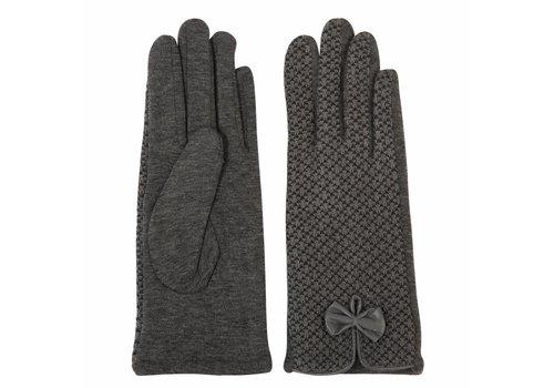 Clayre & Eef Handschuhe Eleanor | Grau
