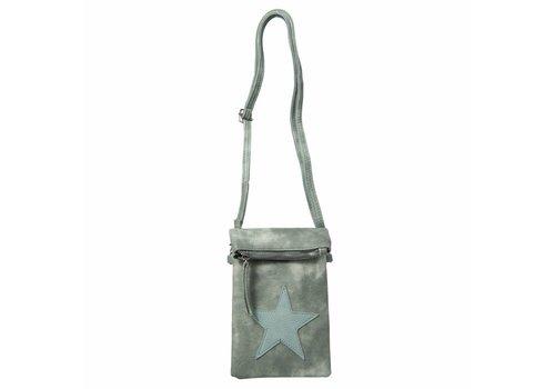 Clayre & Eef Handtasche Aimee | Stern | Grün