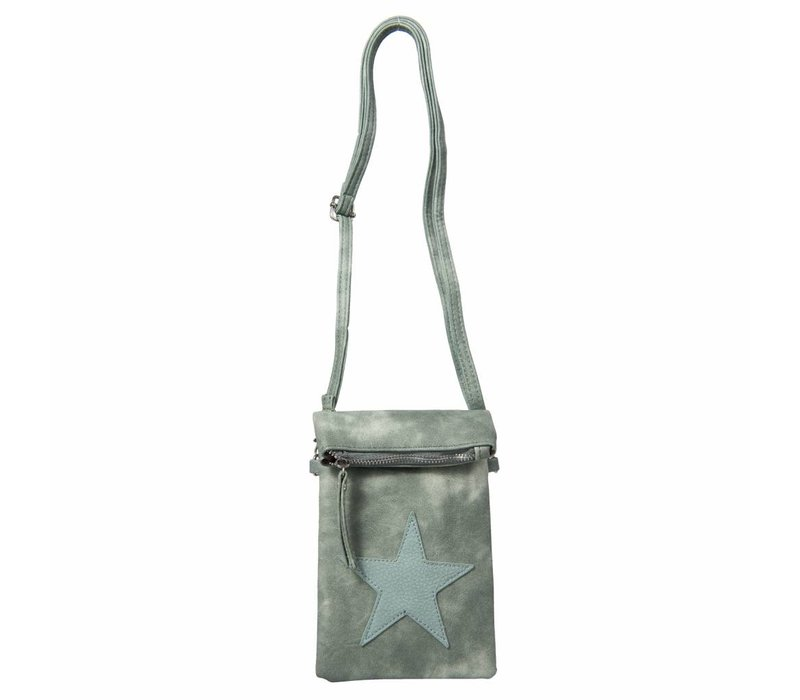 Handtasche Aimee | Stern | Grün