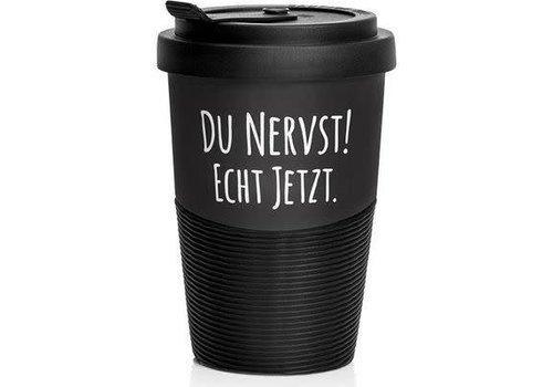 Pechkeks Becher - Du nervst! | Travel Mug