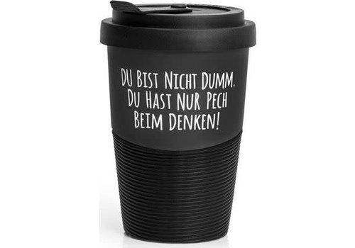 Pechkeks Becher - Pech beim Denken | Travel Mug