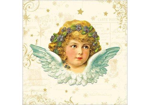 Weihnachts Servietten | Vintage Angel | 100% Tissue
