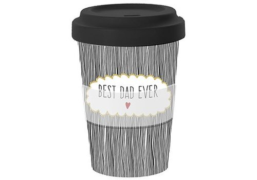 To go Becher | Best Dad | Bamboo