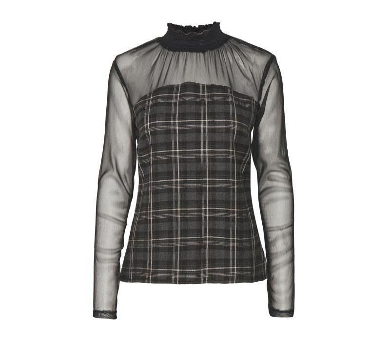 Bluse | Orlinda Blouse | Pitch Black