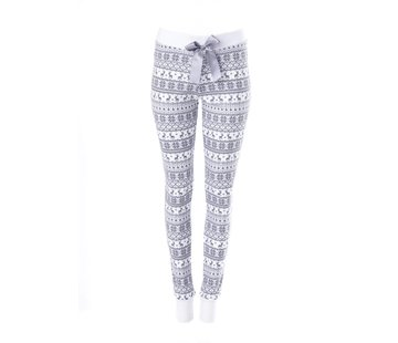 "Louis & Louisa Pyjamahose | Legging Damen ""Warm ums Herz"" 