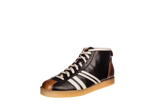 Zeha Berlin Trainer | Trainer High | Nappa nero, black