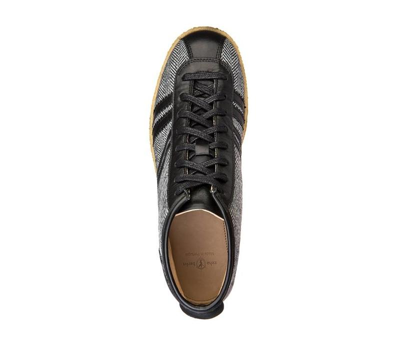 Trainer   Trainer High   Tweed, Leeds black, offwhite