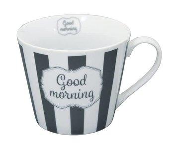 Krasilnikoff Tasse | Happy Cup | Good Morning
