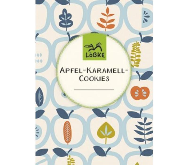 "Backmischung ""Apfel-Karamell Cookies"""
