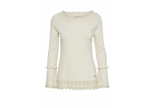 Cream Clothing Bluse | MATLIN BLOUSE | Pristine Sand