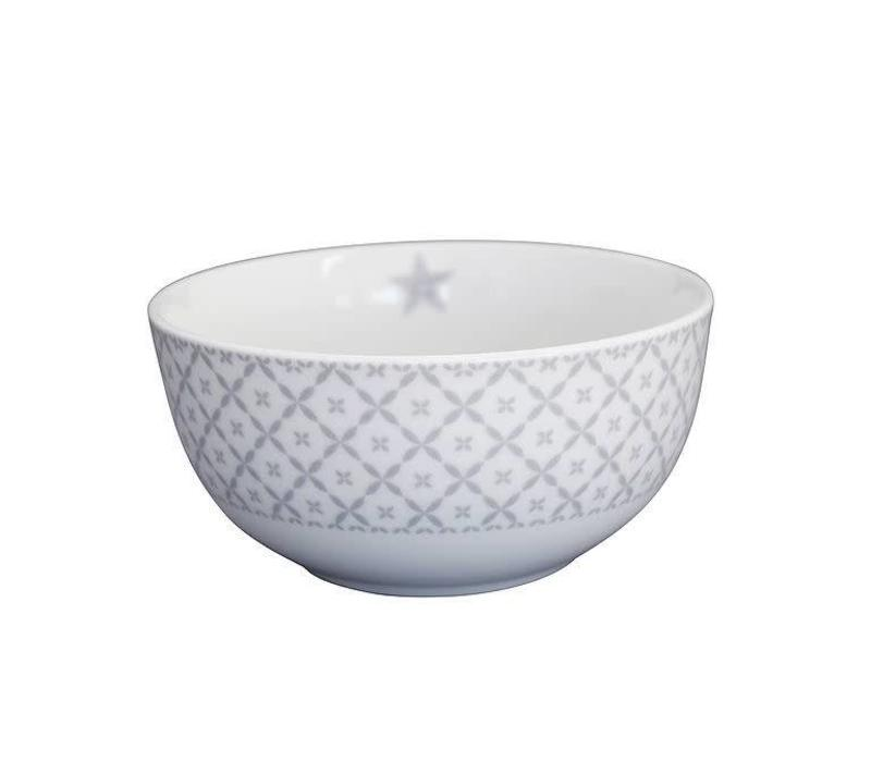 Schale | Happy Bowl | Grey Diagonal
