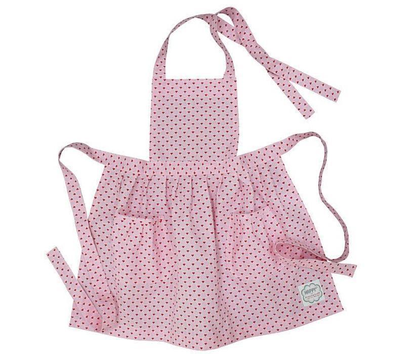 Kinder Küchenschürze | Apron | Pink Hearts
