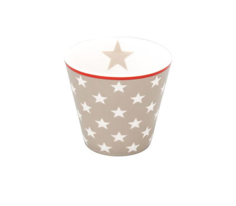 Espresso Tasse | Happy Mugs | Taupe Star