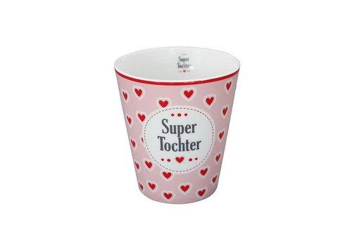 Krasilnikoff Tasse | Happy Mug | Super Tochter