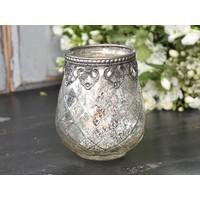 Teelichthalter Ampel | Glas | Gross