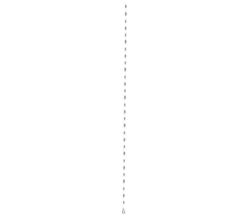 Christbaumschmuck Girlande 180 cm | Perle | Tropfen