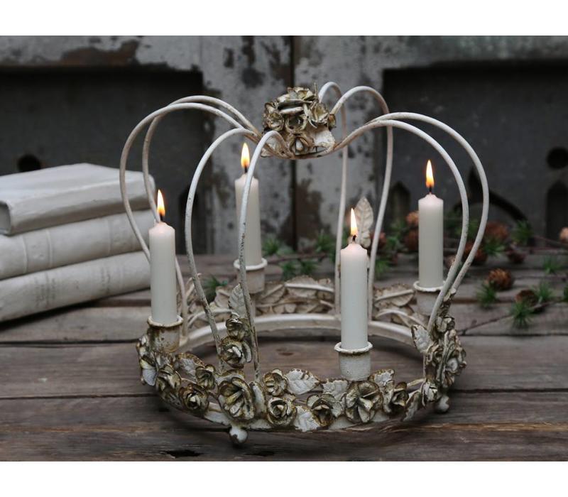 Kerzenhalter Königskrone | für 4 Kerzen