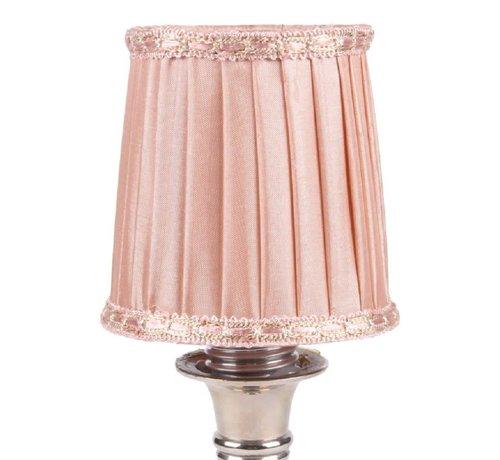 Lampenschirm   für Kronleuchter   D 8 cm   Rosa