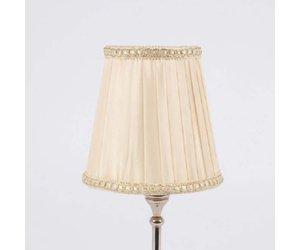 Kleine Lampenschirme Für Kronleuchter ~ Lampenschirm für kronleuchter d 11.5 cm warm weiss enchanté