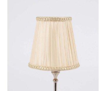 Lampenschirm   für Kronleuchter   D 11.5 cm   Warm Weiss