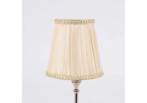Lampenschirm | für Kronleuchter | D 11.5 cm | Warm Weiss