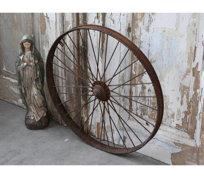 Deko Speichenrad | Vintage | Antik Rost