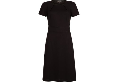 King Louie Kleid | Mona Dress Milano Crepe | black