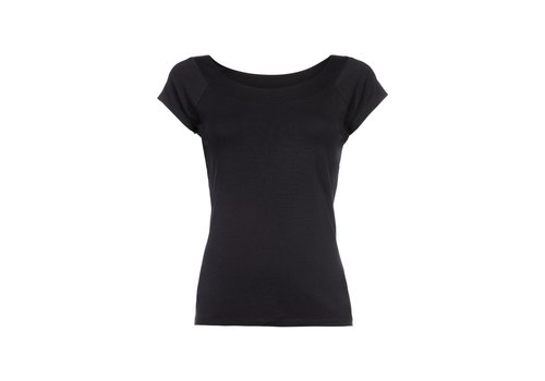 King Louie Shirt | Sarah Top Viscose Lycra | dark navi