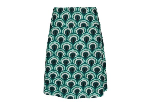 King Louie Rock | Border Skirt Peacock | rock green