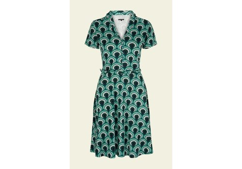 King Louie Kleid | Emmy Dress Peacock | rock green