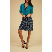 Kleid | Cross Dress Frangipani | blue