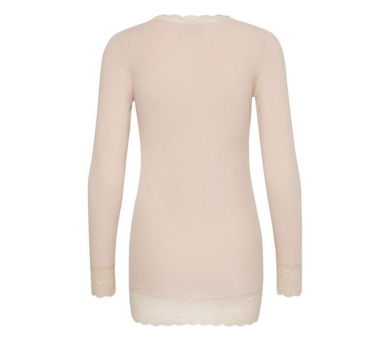 Shirt | Vanessa L/S T-shirt | Spring Powder Melange