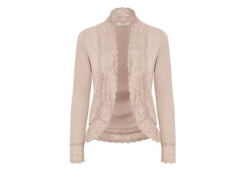 Cream Clothing Cardigan   Vanessa jersey cardigan   Spring Powder Melange