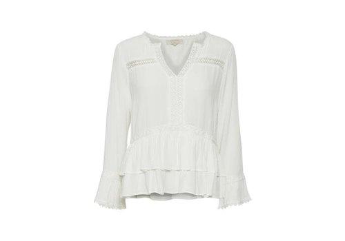 Cream Clothing Bluse | Kalan Blouse |  Chalk