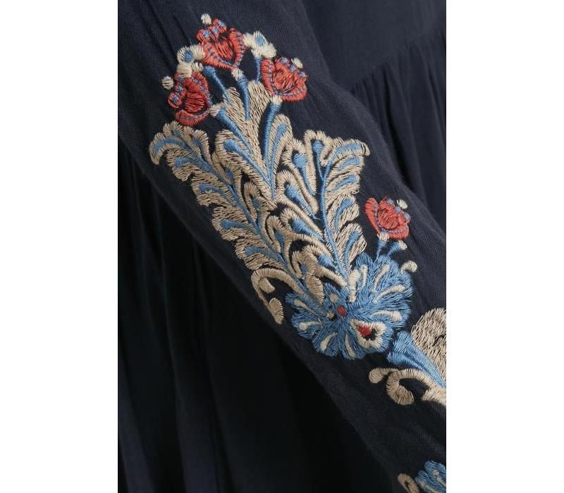 Kleid | Oprah Dress | Royal Navy Blue