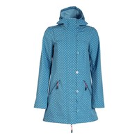 Softshell-Parka | wild weather long anorak | little dots